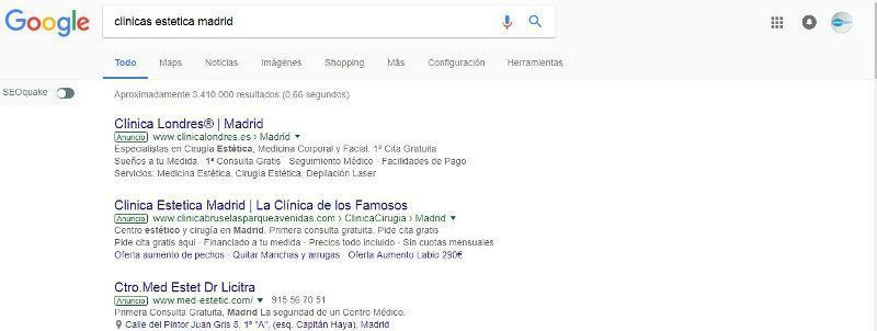 publicida online -marketing para clinicas de estetica