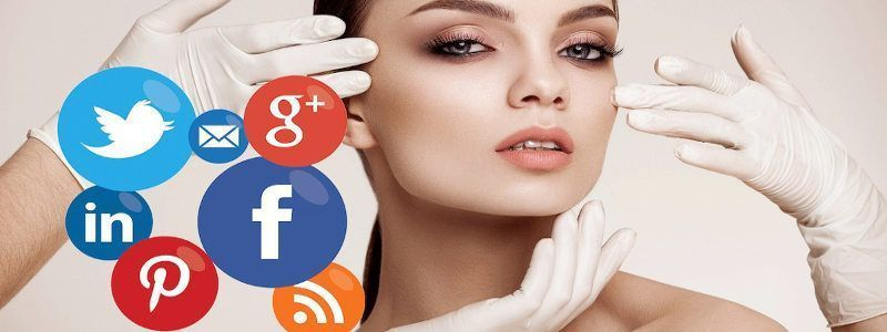 social media marketing para clinicas de estetica