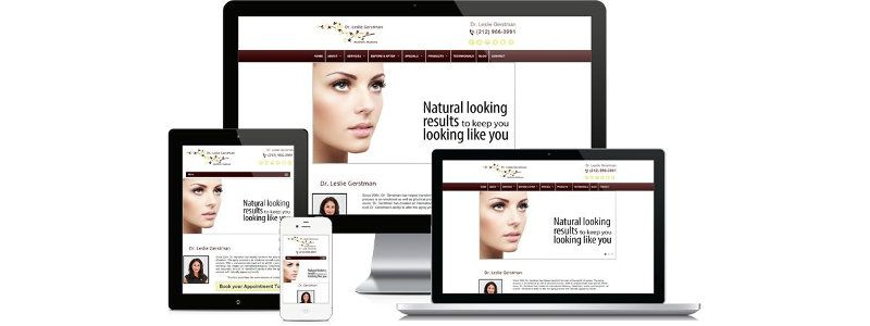 marketing para clinicas de estetica - diseno web2